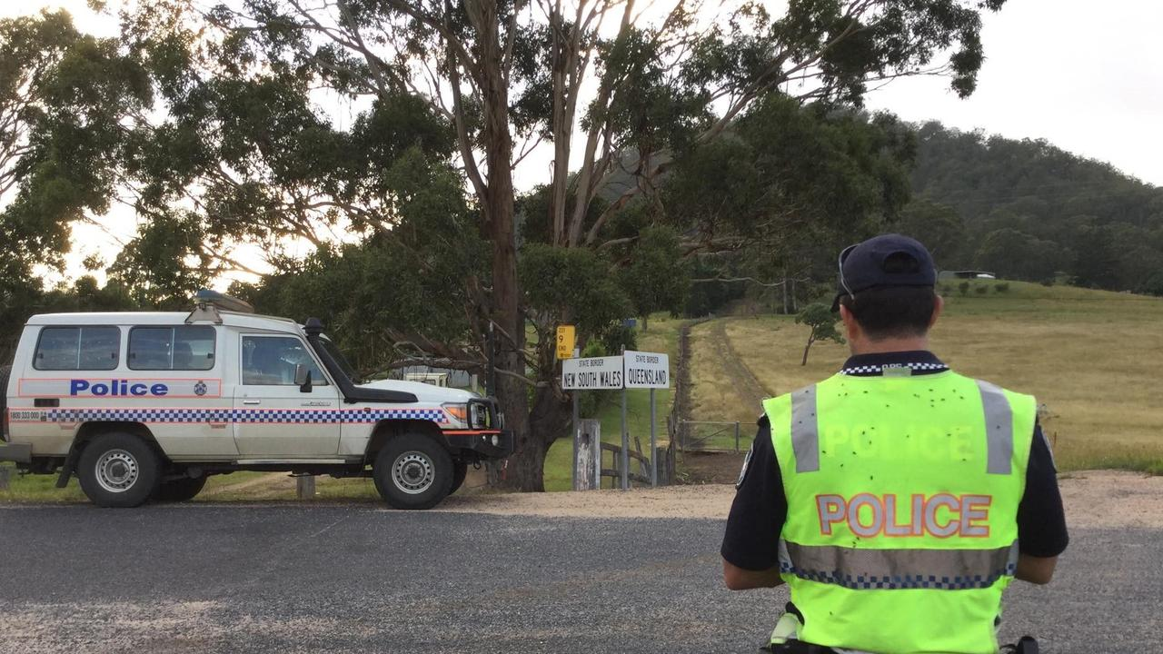 Queensland Police force out monitoring border crossings with NSW, Queensland closed the borders last night, scenes that could be replicated within Queensland.