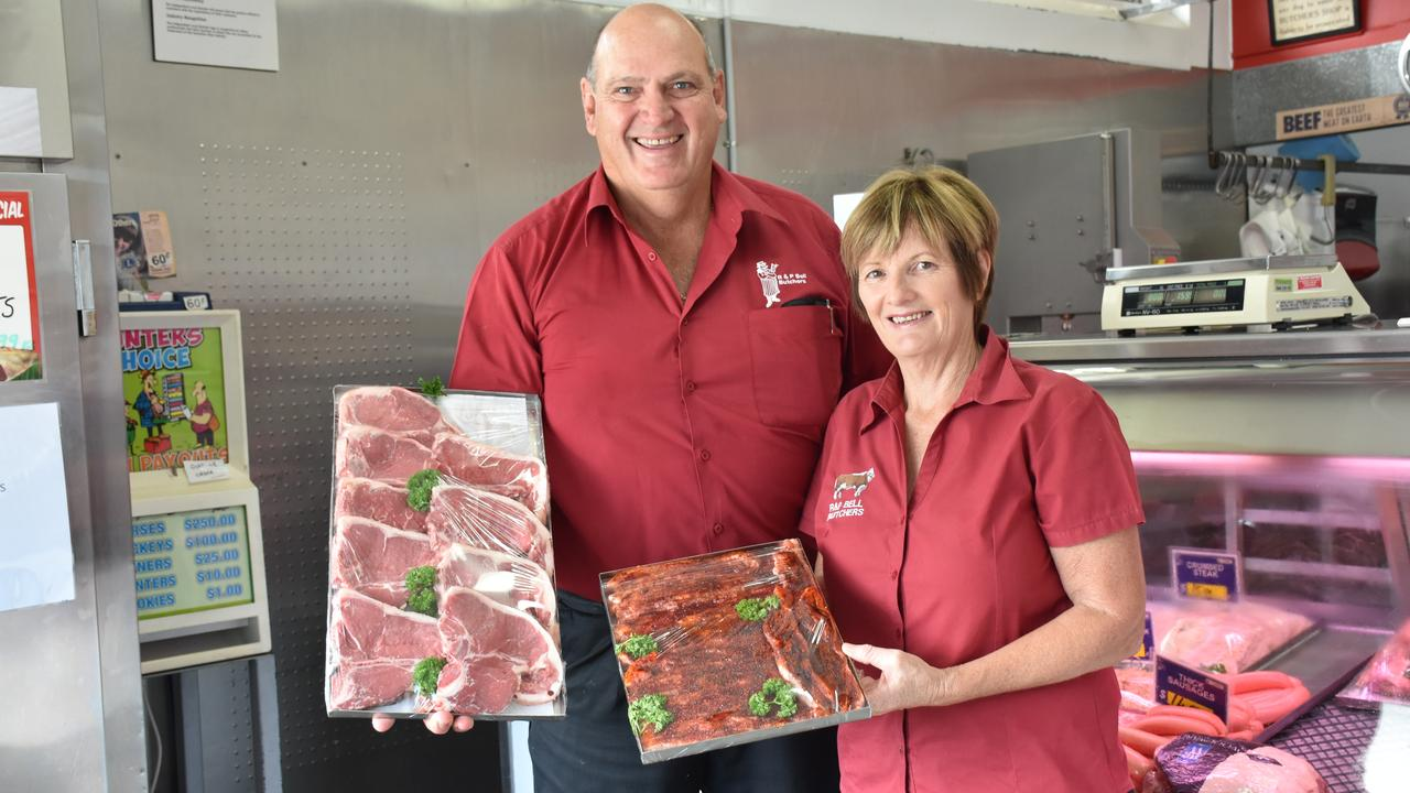 25 YEARS OF BUSINESS: Trish and Ross Bell celebrate their shop's birthday on April 1.
