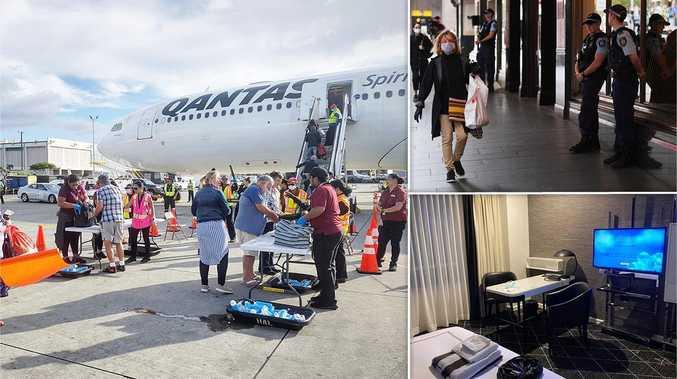 Inside the Sydney hotel housing 239 cruise passengers