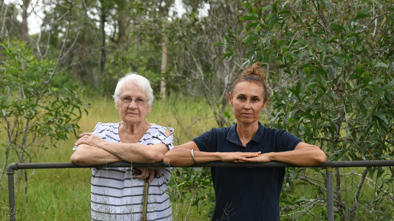 REPOSSESSED: Anna Pedersen and daughter Tracey Menzies say Gympie Regional council has effectively taken their land, via excessive environmental restrictions which make even building one house an expensive process.