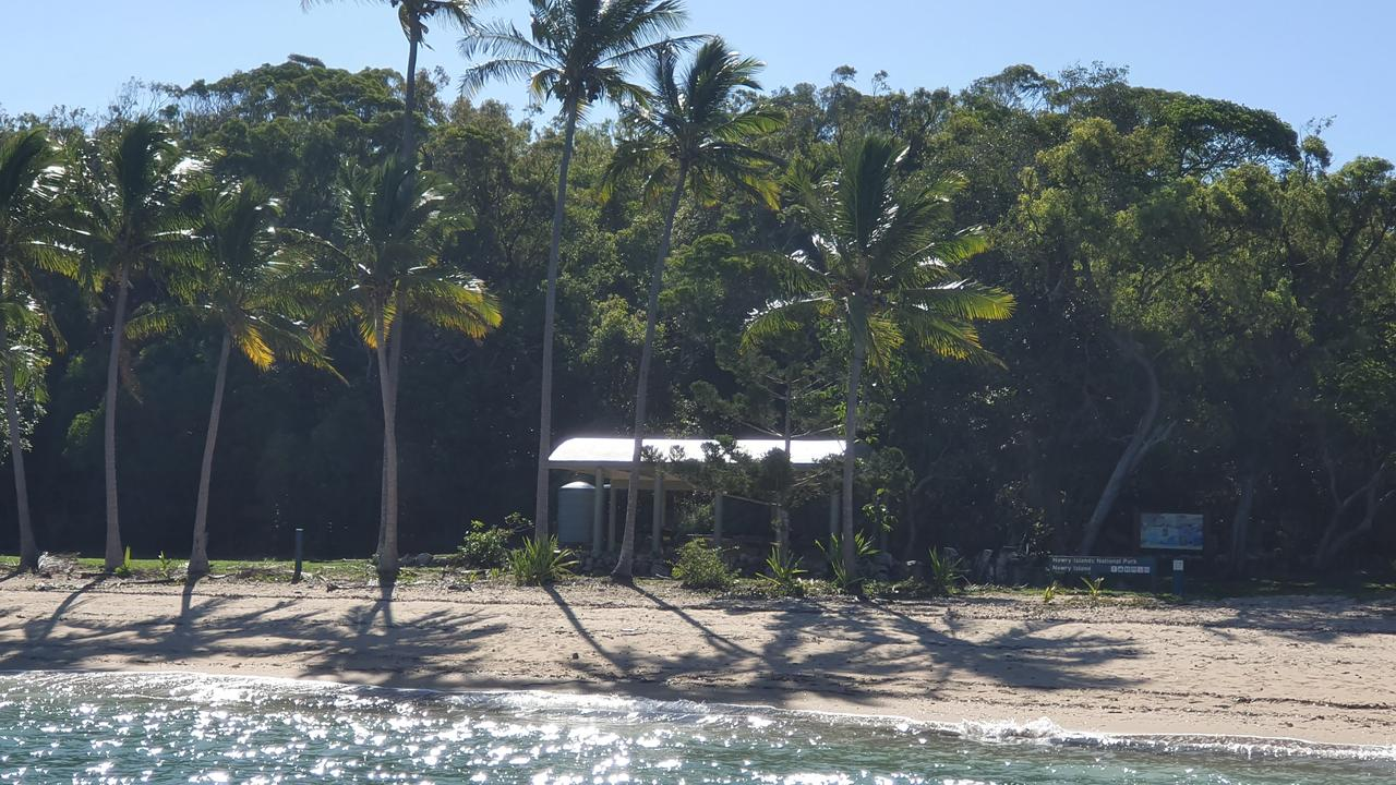 The camping grounds at Newry Island within Cape Hillsborough National Park. Picture: Heidi Petith