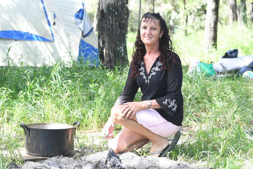 Image for sale: Terri Stedman at Inskip Point