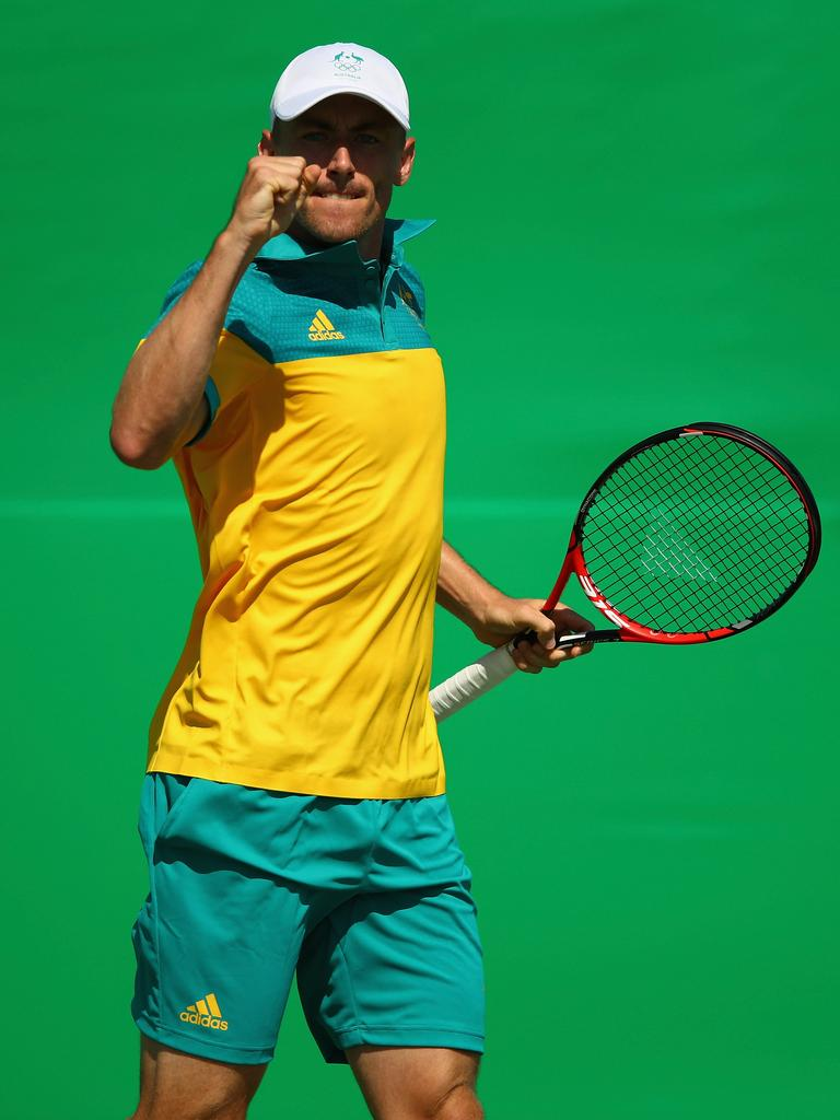 John Millman at the Rio 2016 Olympic Games, (Photo by Clive Brunskill/Getty Images)