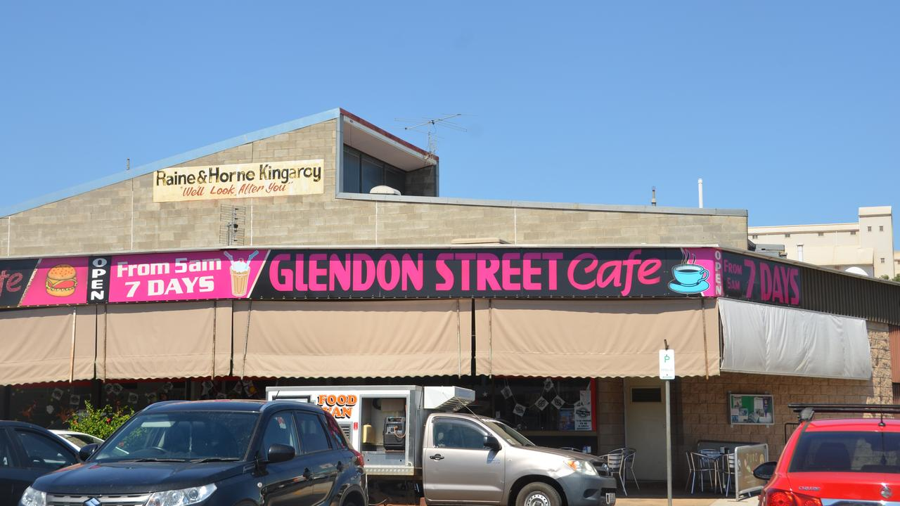 STEP CLOSER: Police are still investigating a theft at Glendon Street Cafe in the early hours of Tuesday morning, March 24. Photo: Elaelah Harley