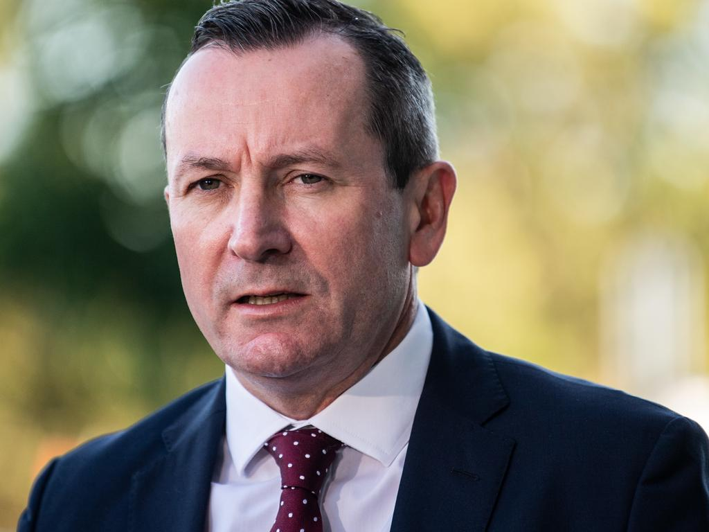 Premier of Western Australia Mark McGowan said WA passengers on board the Vasco da Gama would be transferred to Rottnest Island for quarantine. Picture: James Gourley/AAP