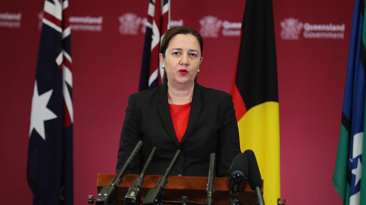 Premier Annastacia Palaszczuk. Picture: Annette Dew.