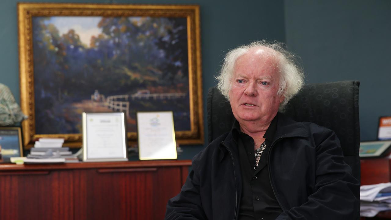 Ballina Shire Mayor David Wright. Picture: DYLAN ROBINSON