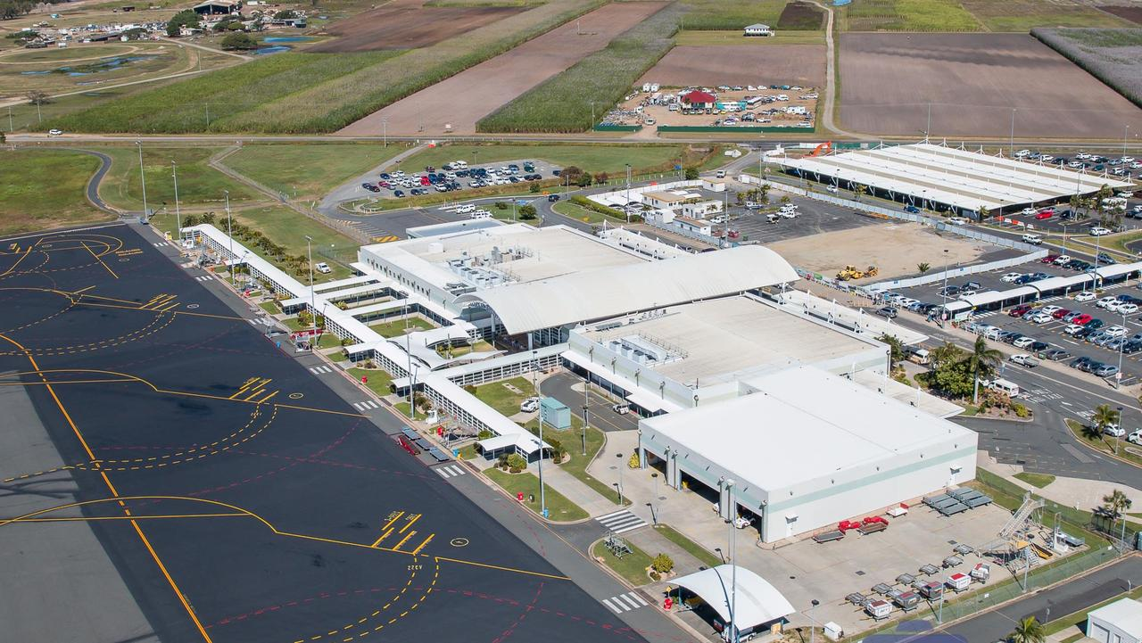 Earlier this month Mackay Airport was hit with a health scare when a passenger tested positive for COVID-19.