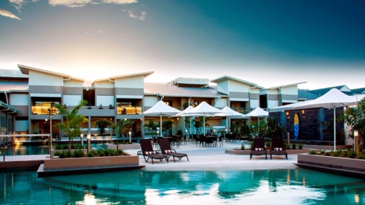 1770 Lagoons Central Apartment Resort has apartments for sale starting at $116,000. Picture: Contributed.