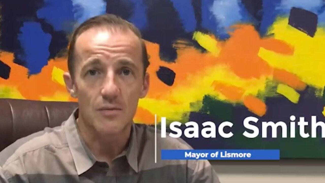 Lismore City mayor Isaac Smith