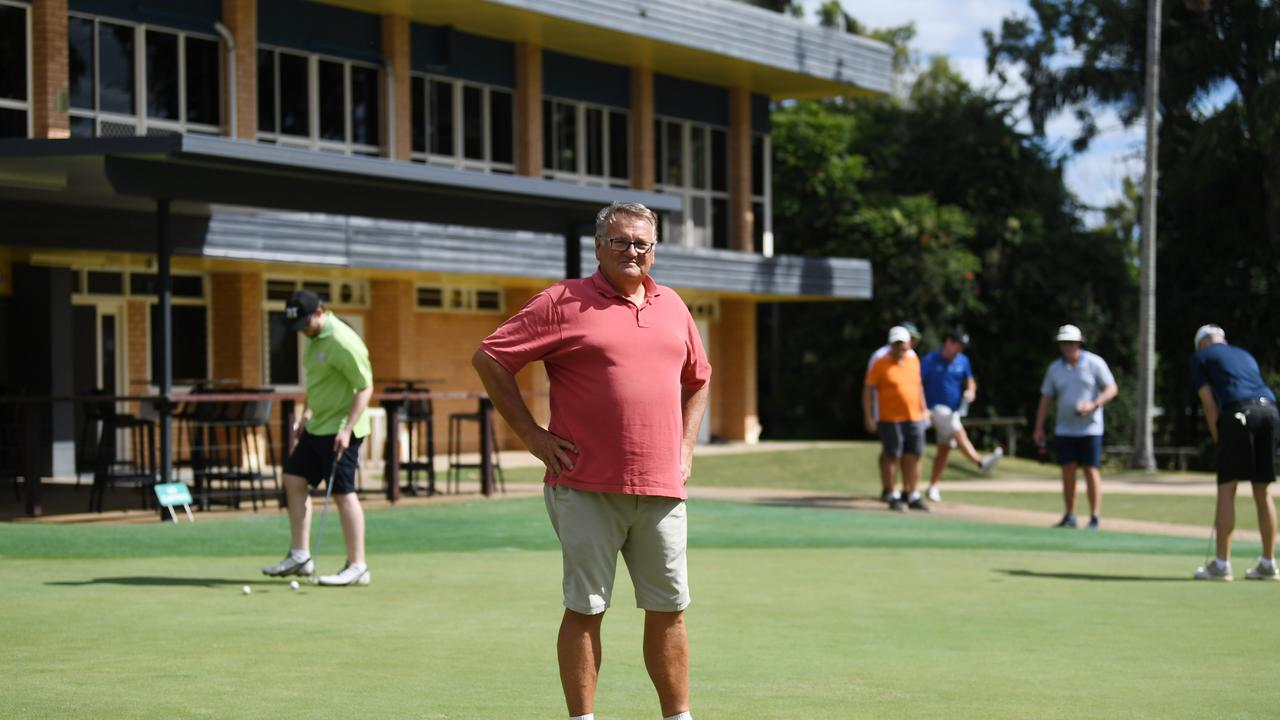 HOPEFUL: Rockhampton Golf Club president Peter Mehlhose hopes players and members will adhere to the club's strict new rules.