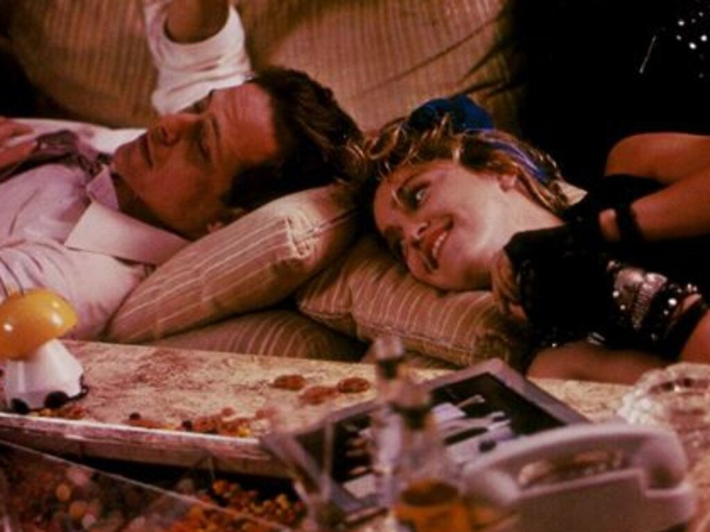 Mark Blum with Madonna in the 1985 film, Desperately Seeking Susan. Picture: Supplied/Orion Films