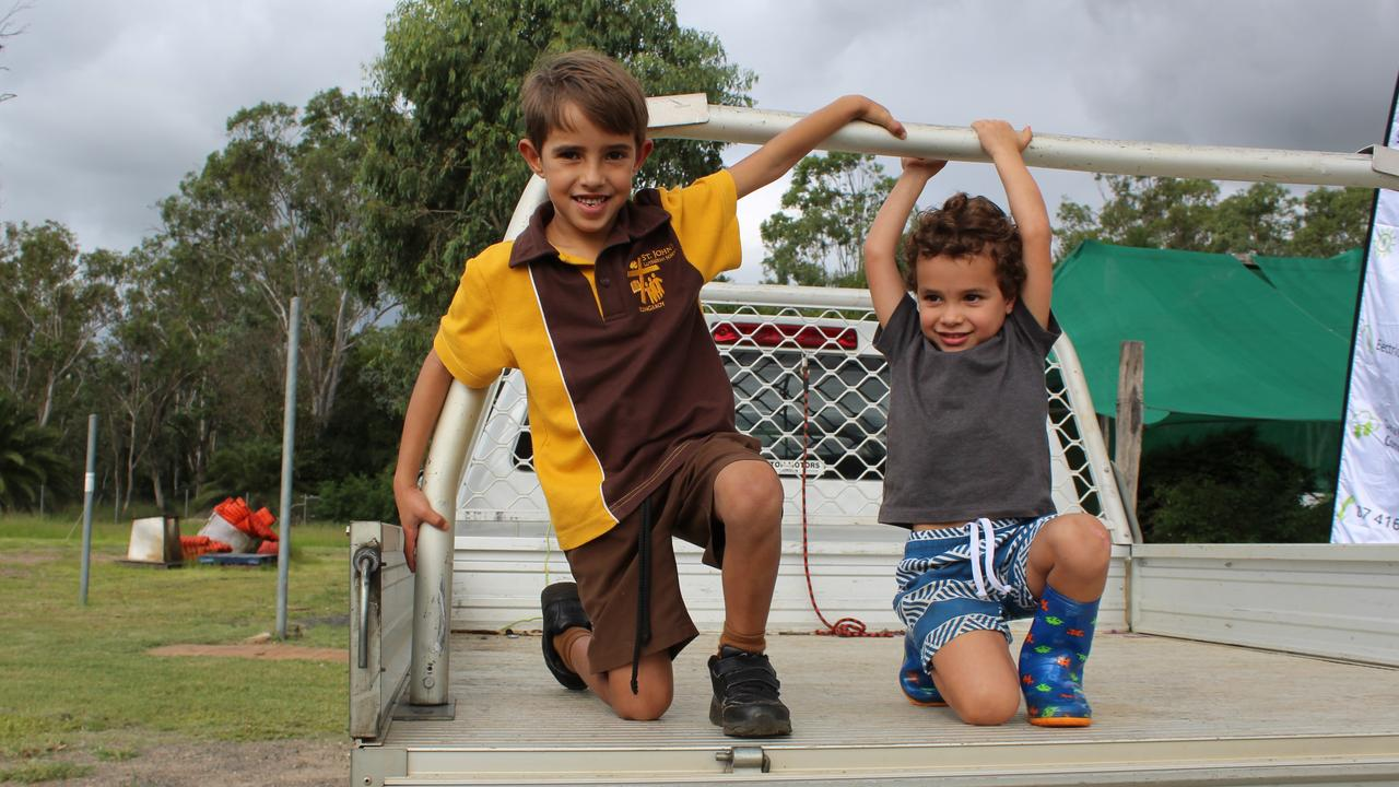 Sixth generation Raffins Olly and Harley who are Daley and Sherree's beloved children. Photo: Laura Blackmore
