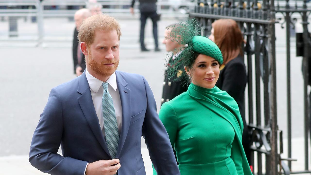 Meghan and Harry are now in Canada after quitting as royals earlier this year. Picture: Chris Jackson/Getty Images