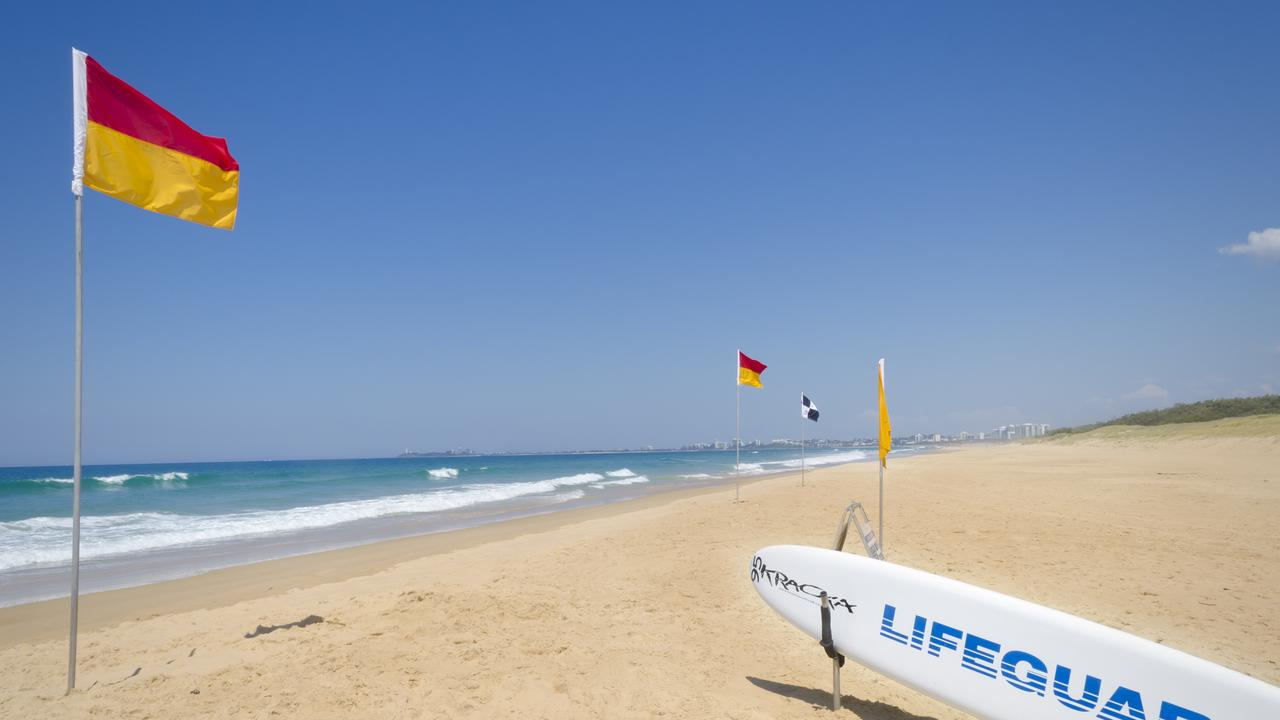 Surf life saver red and yellow flags will be down in response to COVID-19.