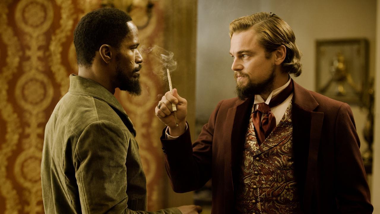 Jamie Foxx and Leonardo DiCaprio star in the film,