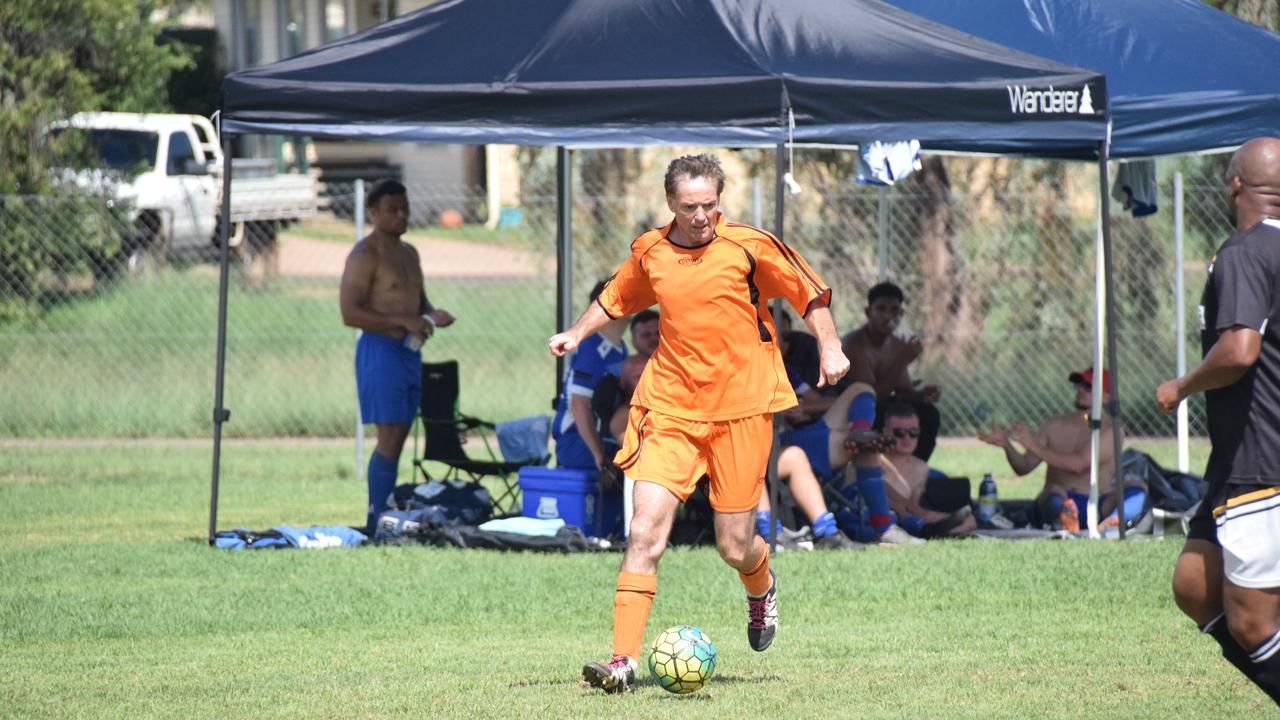 The South Burnett Soccer Sevens in February was the last time Kingaroy footballers ran out for a match. (Picture: Tristan Evert)