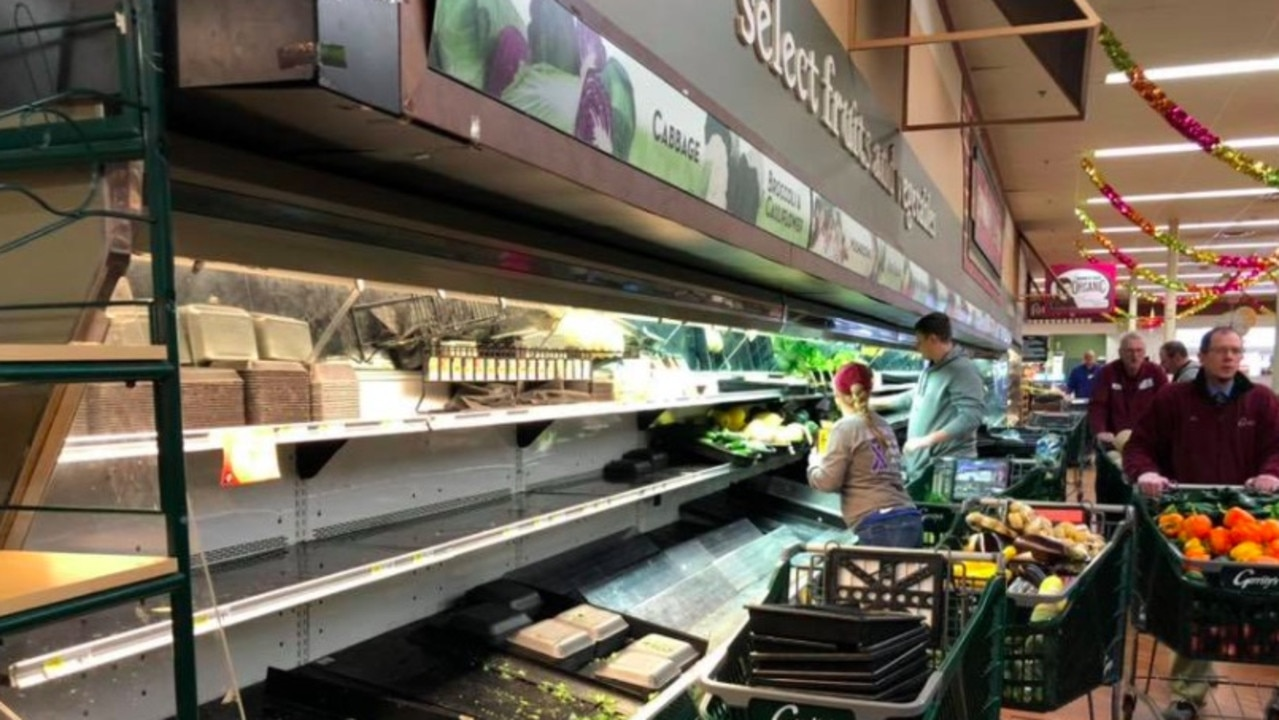 Staff at the supermarket discarded almost $58,000 worth of food after the incident. Picture: Gerrity's Supermarket