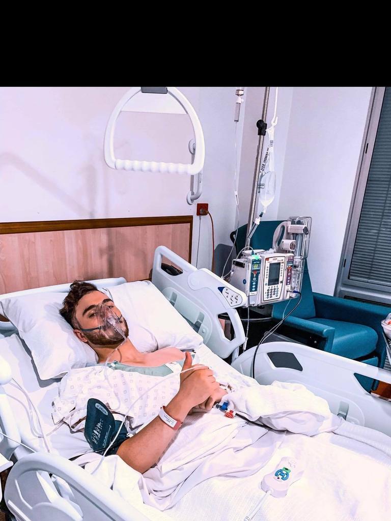 Sunshine Coast Wanderers defender Nikolas Taylor has overcome three hip surgeries to be back playing football.