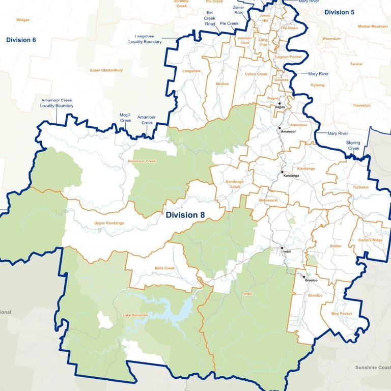 March 2020 Gympie council election Division 8