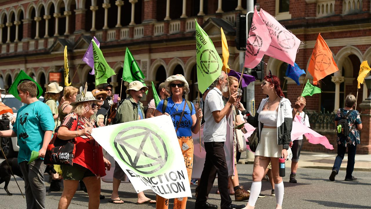 Some of the global protests calling for action on climate change.