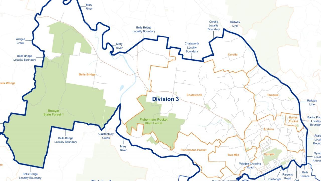 March 2020 Gympie council election Division 3