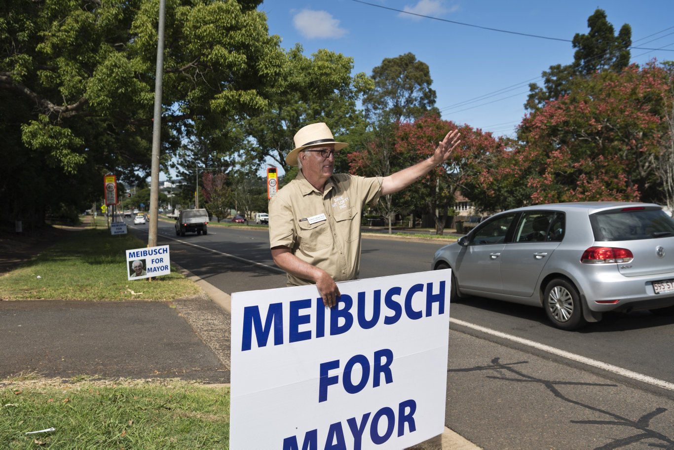 Mayoral candidate Chris Meibusch has conceded defeat.