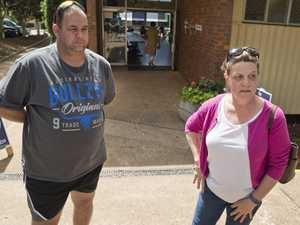 Jeff and Wendy Collins after voting in the Toowoomba