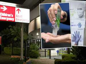 'Sick act': Hospitals raided for sanitiser and face masks