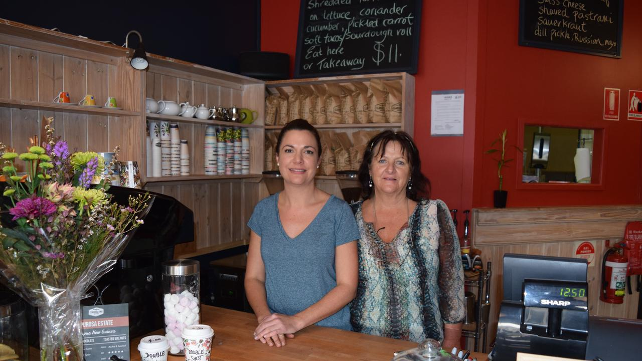 Camille Nash (left) and Lynne Donnelly, new owners of Craft Punk Espresso June 29 2016