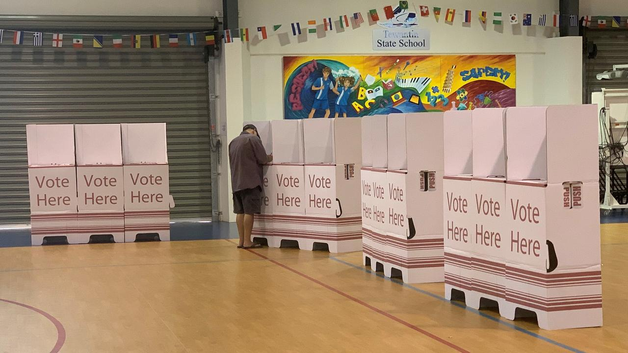 ELECTION: A quiet day at the Noosa Shire election poll at Tewantin State School. Photo: Caitlin Zerafa