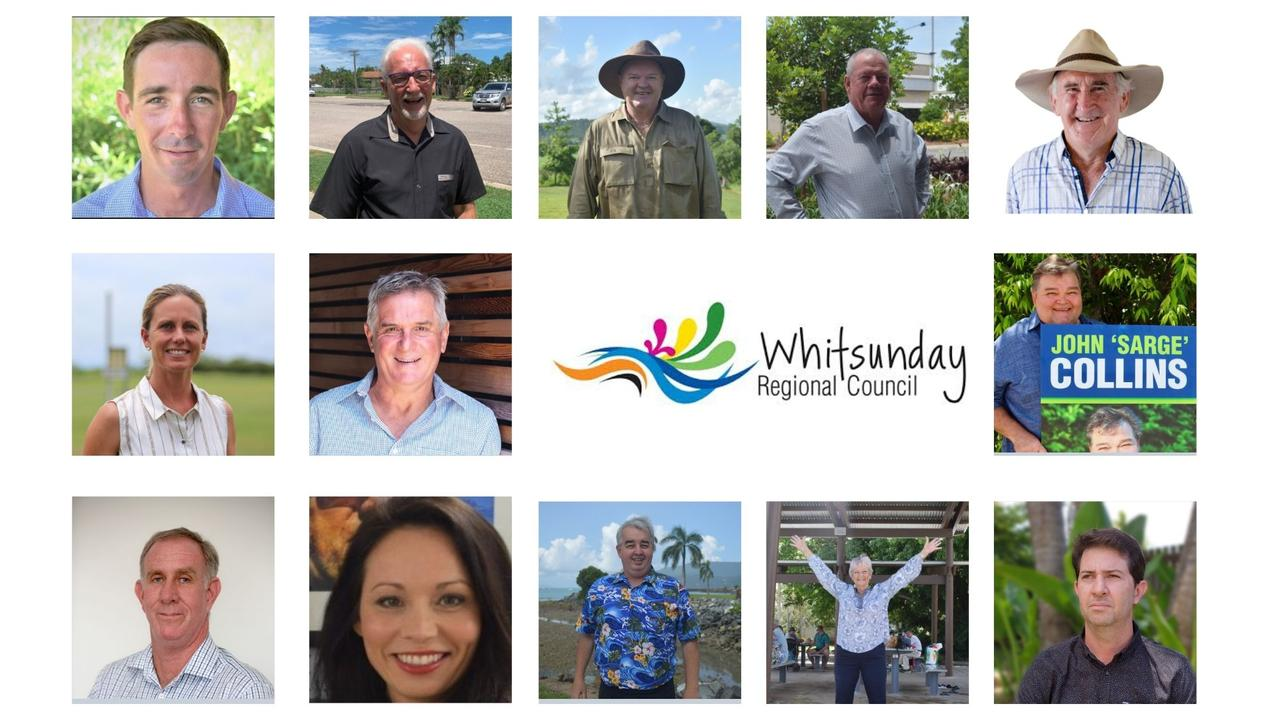 Whitsunday Regional Council candidates were not allowed to attend polling booths.
