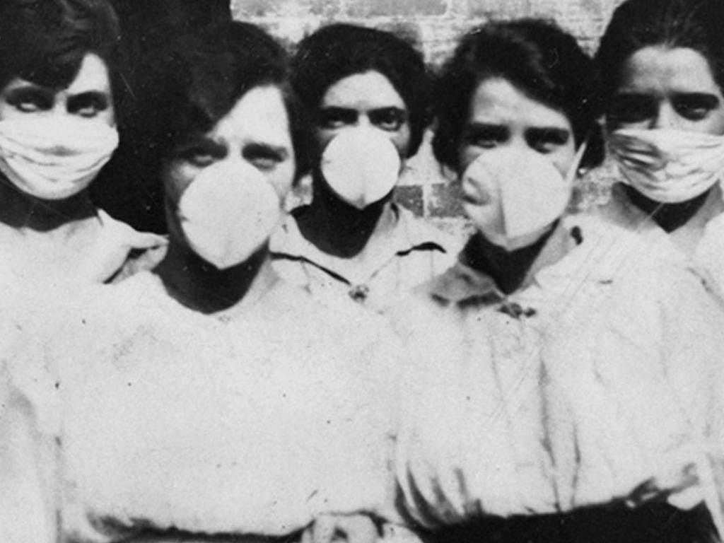 Spanish flu preparations in Queensland in 1918.