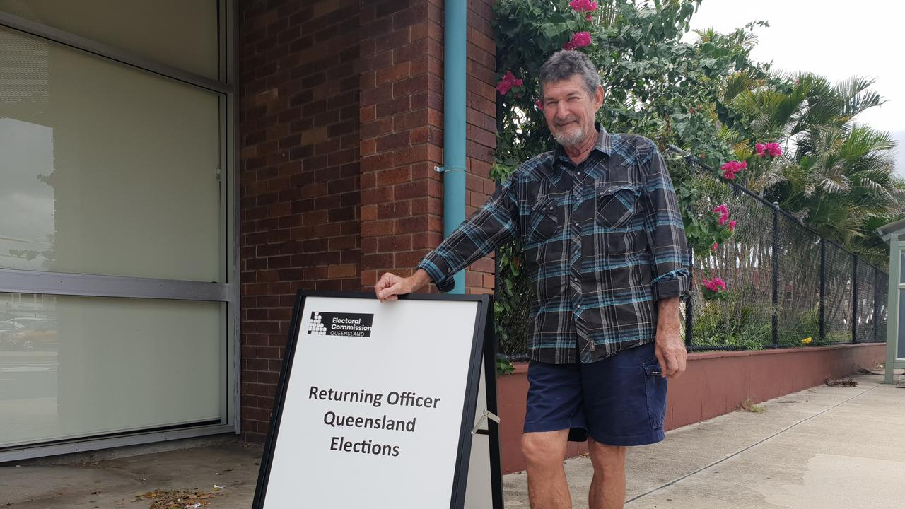 CHALLENGER: Chris Hooper was one of two mayoral candidates for the Rockhampton Region.