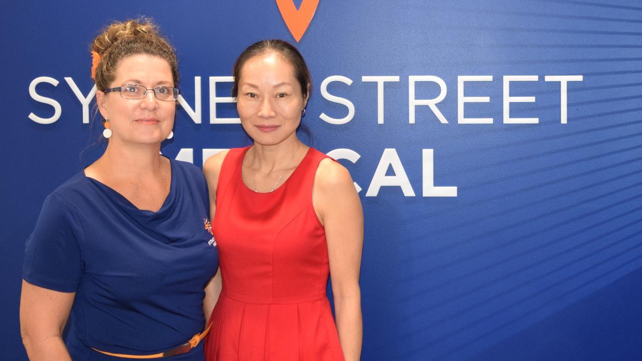 Sydney Street Medical Centre Practice Manager Emman Pullen and Dr Shuren Taylor
