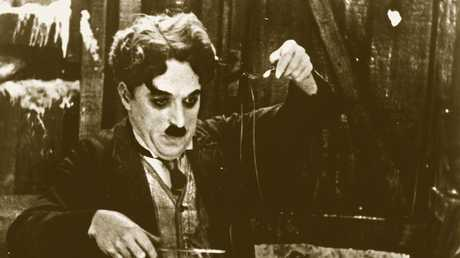 Charlie Chaplin in The Gold Rush. Picture: SUPPLIED