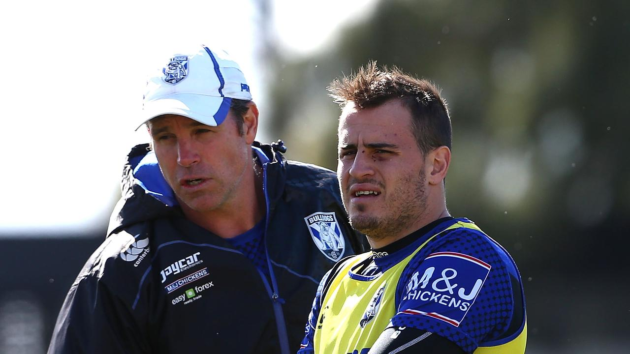 Kelly Egan (L) coached at several leading NRL sides. Picture: Getty