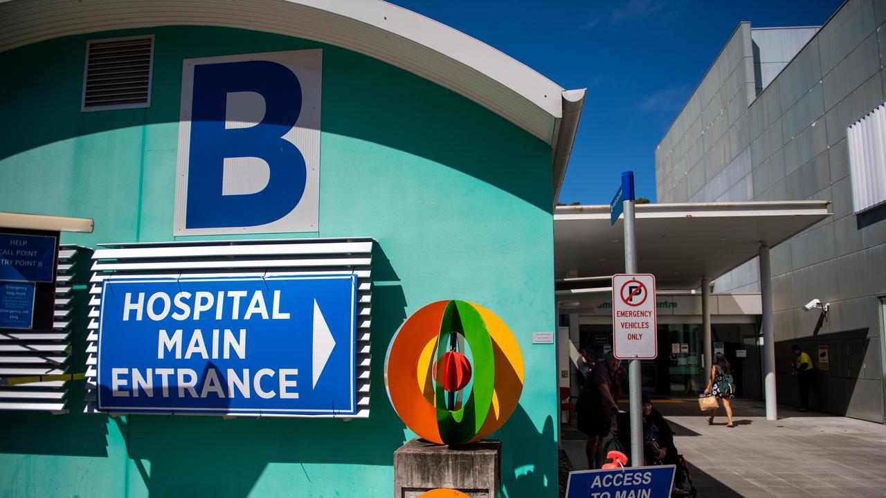 Coffs Harbour health campus hospital. 19 MAR 2020