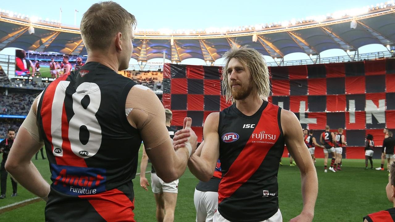 Michael Hurley and Dyson Heppell have lived through both crises. Picture: Getty Images
