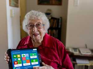 Elderly using tech to temper self-isolation