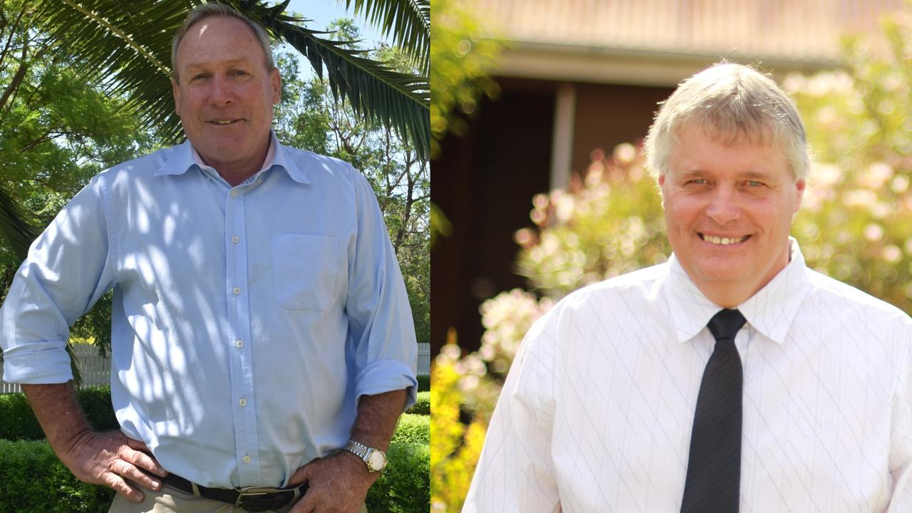 VOTING: Mayor Candidates Paul McVeigh and Glenn Strandquist for the Western Downs Regional Council Election 2020.