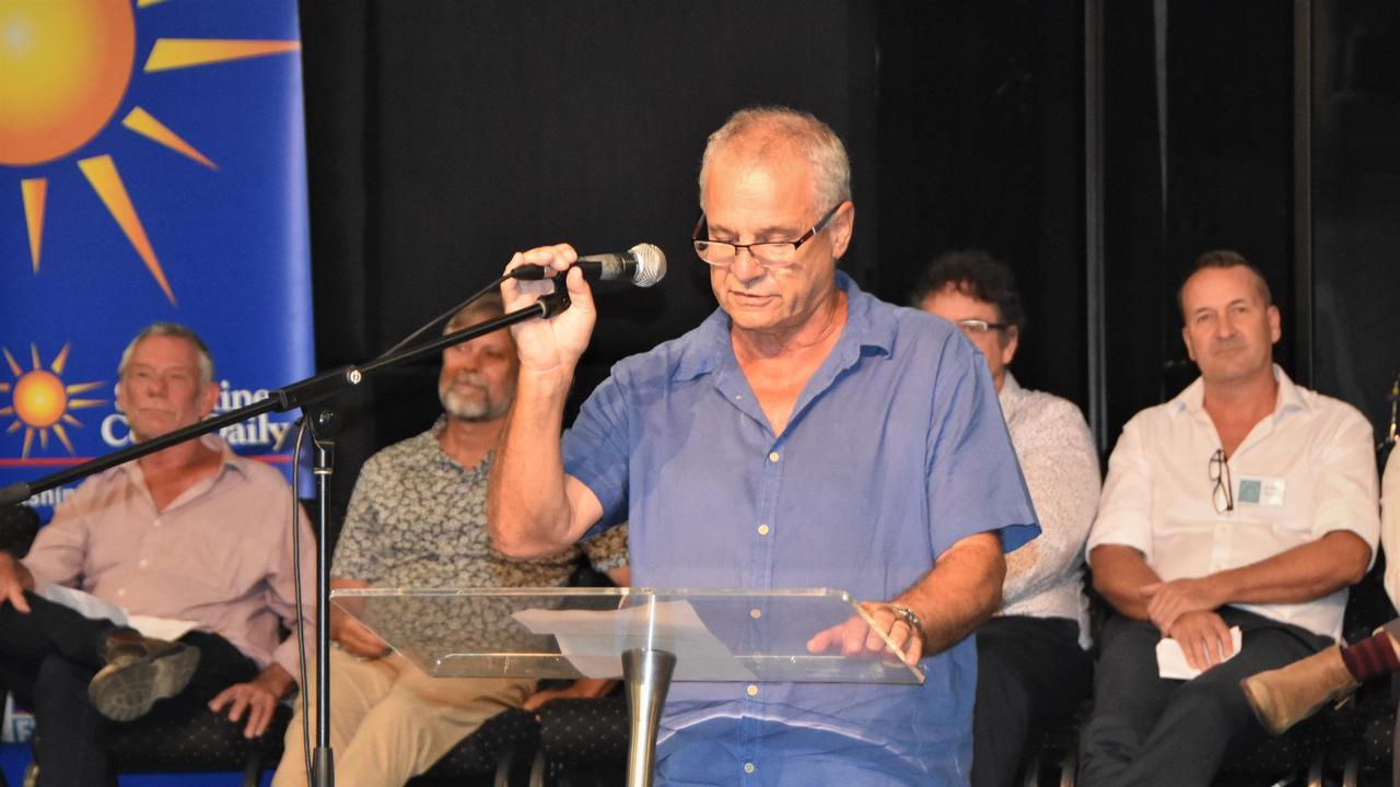 Noosa Council candidate Julien Cahn blames lack of spending in his unsuccessful campaign. Photo: Caitlin Zerafa