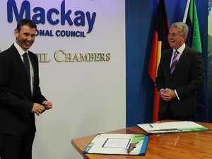 Mackay Mayor sworn in