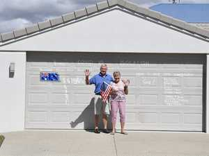 Don and Sue Benfell from Mt. Coolum have been in self