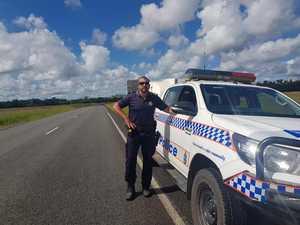 Firey praised for efforts in 'violent' roadside arrest
