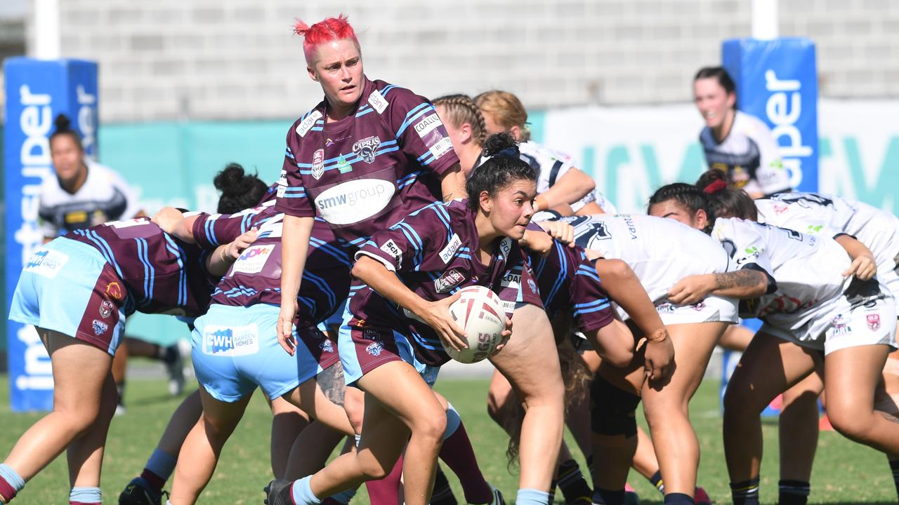 The CQ Capras women played just one game in the inaugural BHP Premiership before their competition was initially suspended and then cancelled. Picture: File