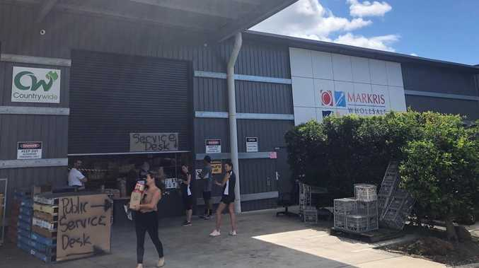 """We have flour, butter, eggs"": Noosa wholesalers sell to residents"