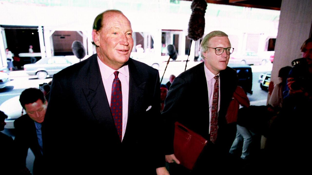 Kerry Packer was a big spending in the 1990s sporting world.