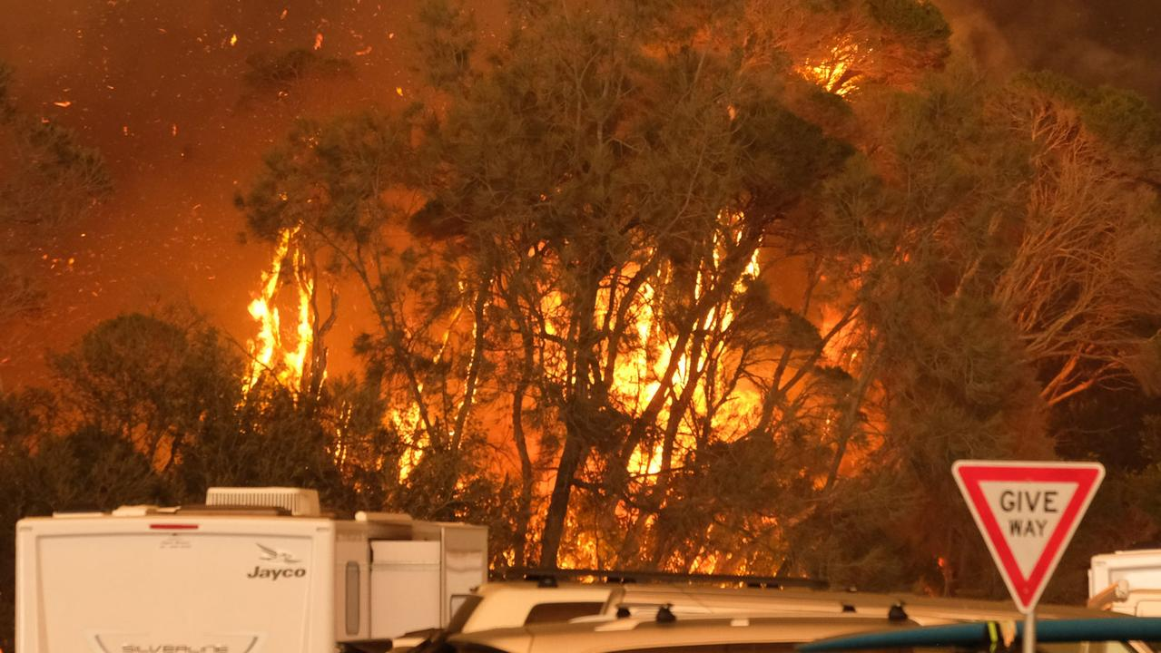 The bushfires devastated the NSW south coast. Picture: Alex Coppel.