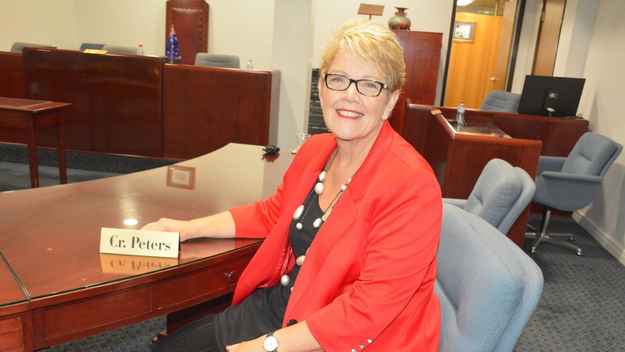 Outgoing councillor Judy Peters has served her division for 26 years.